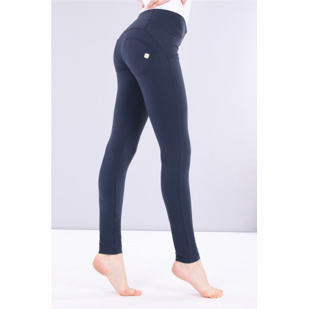 WR.UP® D.I.W.O. Pro Beauty Effect Mid Waist Skinny - B94 - Marineblå