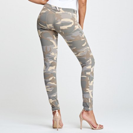 WR.UP® Low Waist Skinny - Z48M - Lys Camo