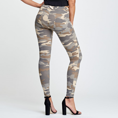 WR.UP® Regular Waist Super Skinny - Z48M - Lys Camo