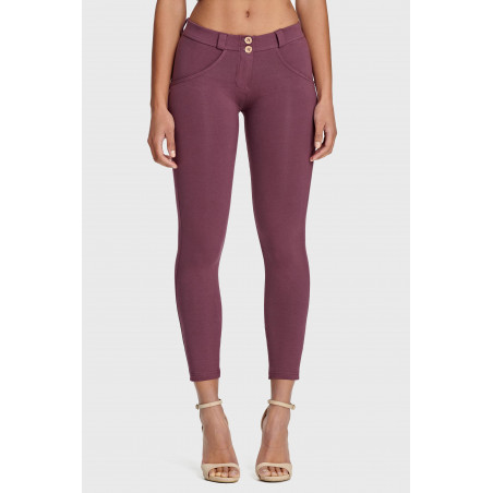 WR.UP Regular Waist Skinny - 7/8 Length - K89 - Mauve Wine