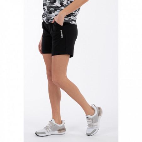 Interlock Bermuda Shorts With Besom Pockets - N - Black