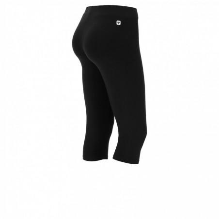 Corsair-Length Stretch Leggings - N - Black