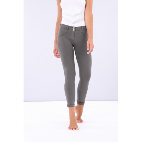 WR.UP® Regular Waist Skinny Made In Italy Fabric - G55 - Grå