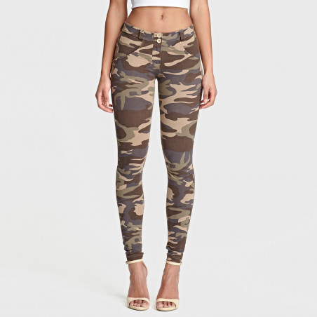 WR.UP® Regular Waist Skinny - M95M - Mørk Camo