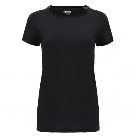 Freddy Performance Fabric T-Shirt - Mesh Inserts - N - Black