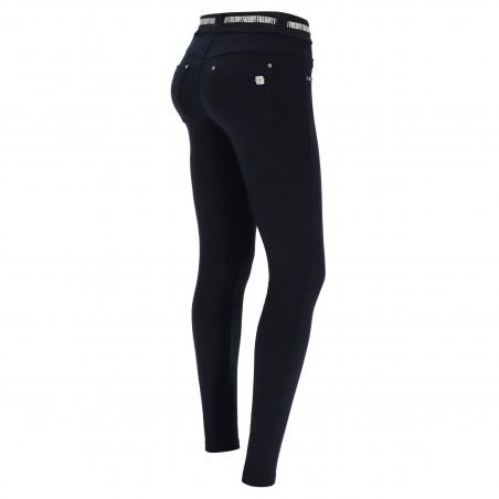N.O.W.® Pants - Mid Waist Skinny - B94 - Navy Blue