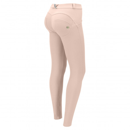 WR.UP® Regular Waist Skinny - Pastel Colored Stretch Jersey - P34 - Rose Cloud