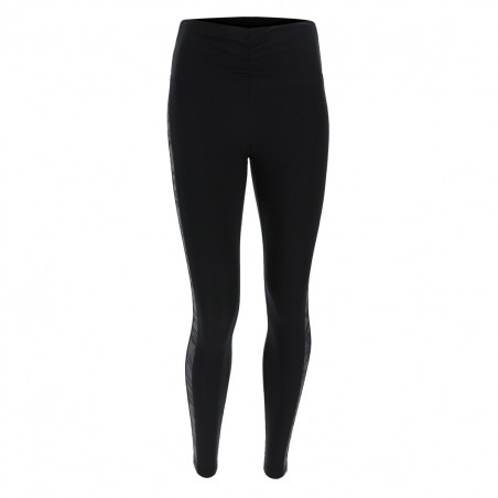 SUPERFIT Cotton Leggings High Waist in D.I.W.O.® 7/8 Ankle - N0 - Svart