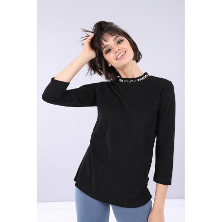 FREDDY Long-sleeved Shirt - N0 - Svart