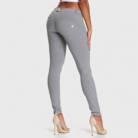 WR.UP® Low Waist Skinny - H4 - Gråmelert