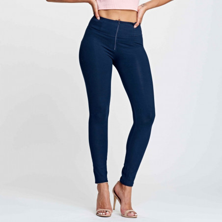 WR.UP® HIGH WAIST SKINNY - B940 - Marineblå