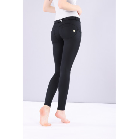 WR.UP® D.I.W.O - Regular Waist Super Skinny - N0 - Svart